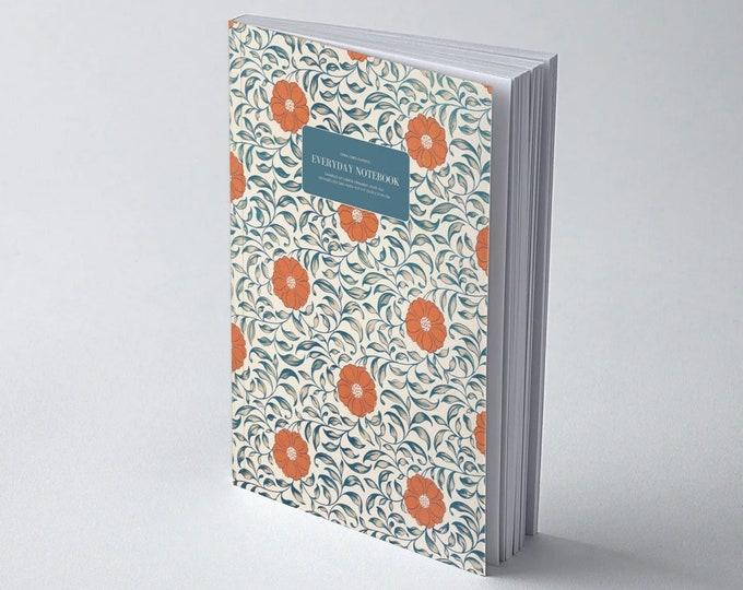 Owen Jones Classics: Examples of Chinese Ornament - Plate XLVI | Dot Grid | Bullet Journal | Floral Notebook | Travel Journal | Stationary