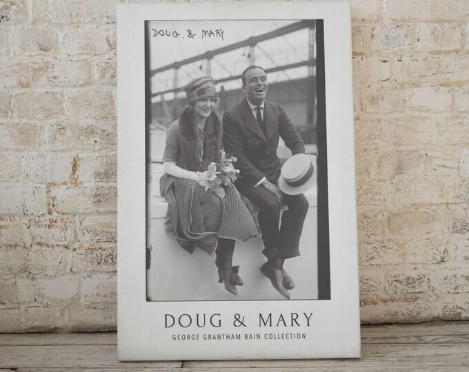 Douglas Fairbanks and Mary Pickford: Hollywood's forgotten silent movie stars