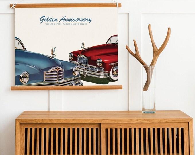 Packard Super Deluxe: Classic car poster | Classic car wall art | Classic car poster | Transport prints | Transport wall art