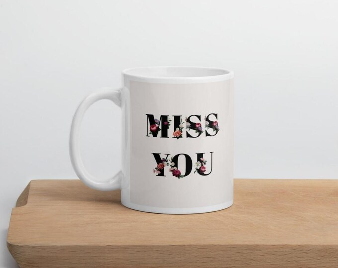 Miss You: Personalized mug wedding   Personalized bridesmaid mug   Coffee mug   Ceramic mug   Best friends mug   Besties gift