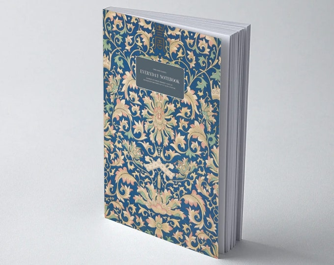 Owen Jones Classics: Examples of Chinese Ornament - Plate LVIII | Dot Grid | Bullet Journal | Floral Notebook | Travel Journal | Stationary