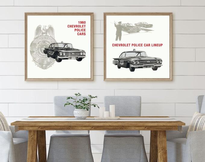 1960 Chevrolet Police Cars