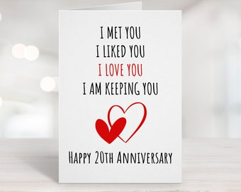 20 Years Together Etsy