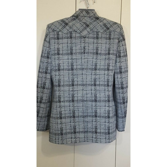 Lasso Western Blazer Sport Coat Vintage Suit Jack… - image 5