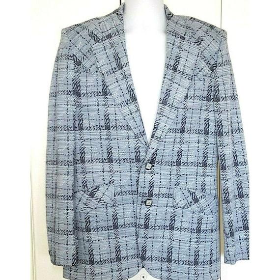 Lasso Western Blazer Sport Coat Vintage Suit Jack… - image 1