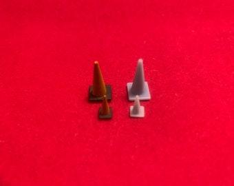 HO & O Scale Road Cones