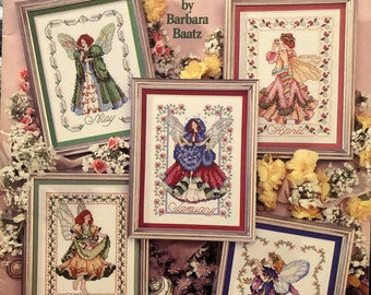 Toadstool Pixie-counted cross stitch chart