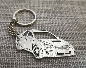 Car Keychain Suit for Subaru BRZ Impreza Legacy WRX Ascent Crosstrek Forester Series,Popular Leather Key Chain /& Key Ring Fit for Subaru Accessories Auto Accessories Car Key Chains Car Logo Keychains