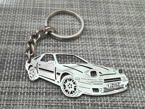 Gift box Personalized keychain Best gift. Leather Supra keychain