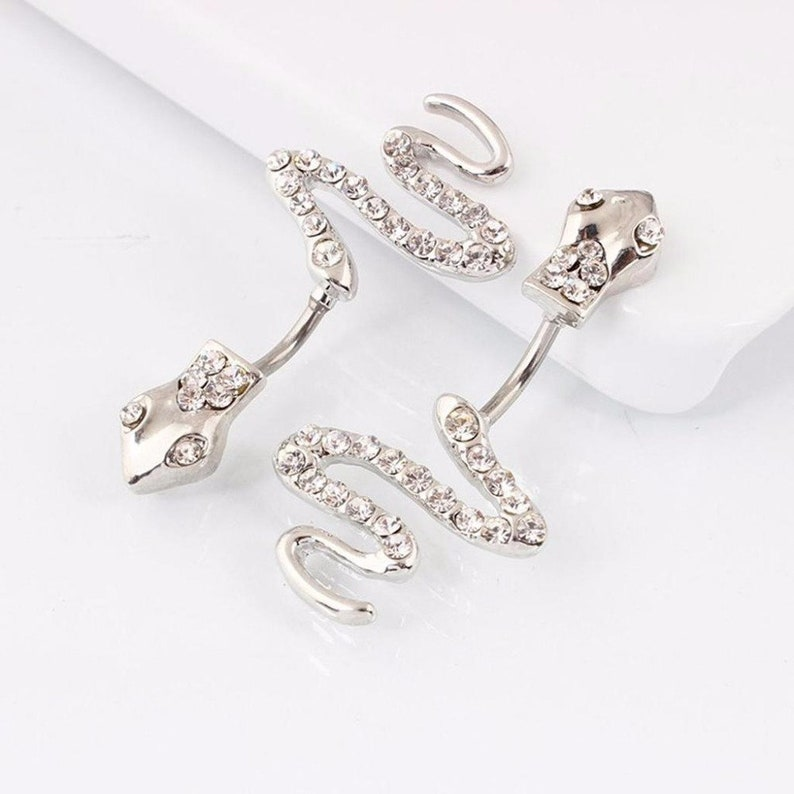Belly Button Ring Snake