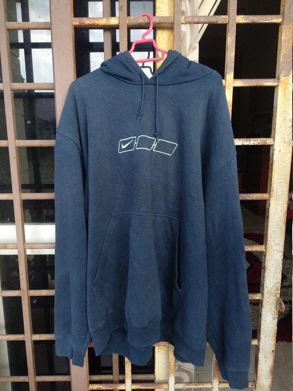 Nike Swoosh Pullover Hoodie Sweater Black Man Wome