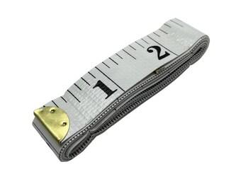 Vintage 1961s USSR   Soviet Russian Tape Measure 5 meters Measuring Tool