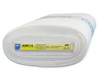 VILENE S320 SOFT FELXIBLE IRON ON FUSIBLE INTERFACING 1MT X 90cm//GREAT FOR BAGS