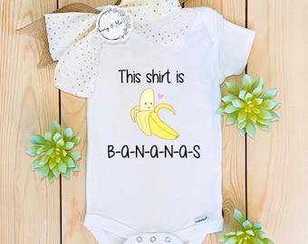 Yellow Banana Romper Baby Boy Girl Unisex Babygrow Unisex Newborn Baby Gift Unique HAREM White Banana Romper Children/'s Banana Onesie