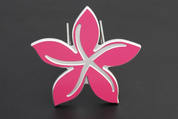 Hibiscus Hitch Cover Flower Hitchcover Pink