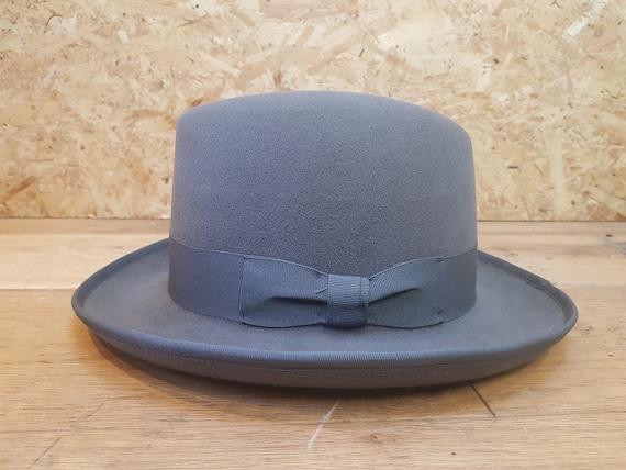 Mens Homburg Hat Supreme Quality Winston Churchill Classic Hat 100/% Wool UK NEW