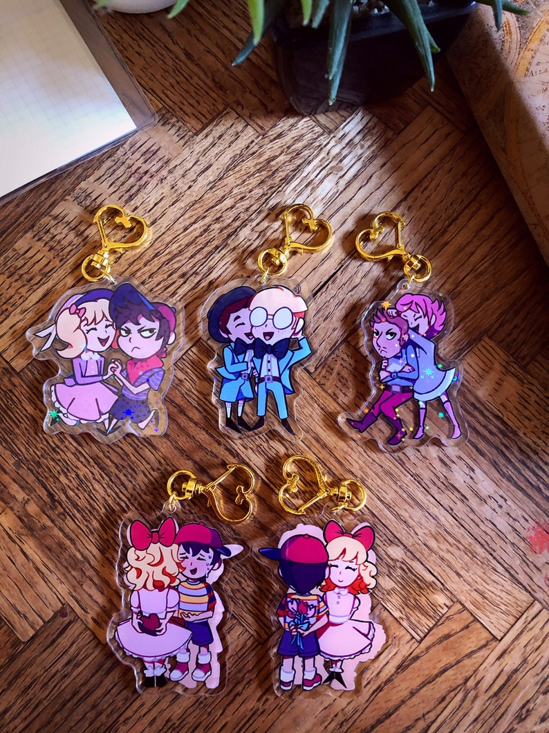 EarthboundMOTHER Valentine/'s Day Ship Charms