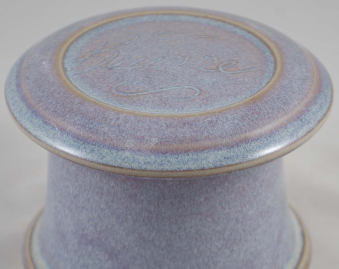 Moonlight Beurre--French butter dish sometimes called a french butter keeper, french butter crock