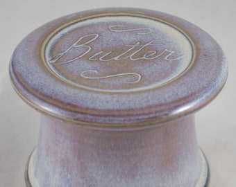 Moonlight Butter--French butter dish sometimes called a french butter keeper, french butter crock
