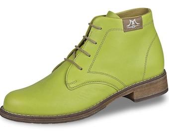 Mittelalter klassische handgefertigte Stiefel mit Muster
