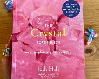The Crystal Experience - crystal book / healing guide to gemstones / crystal workshop manifestation