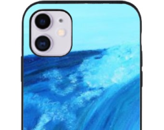 Water texture iPhone Skin ocean iPhone decal landscape iPhone sticker iPhone 5 decal 6 iPhone x case SE 5s 6s 7s 7 plus 8 plus 10 PS234