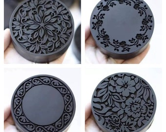 lace royal round shape soap mold candle mould silicone melt and pour craft supplies christmas