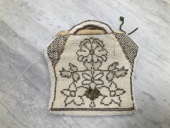 3 Collection of 1920s Gorgeous Beaded small coin purses