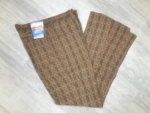 New With Tags 60's/70's Argyle Levi's Bell Bottoms