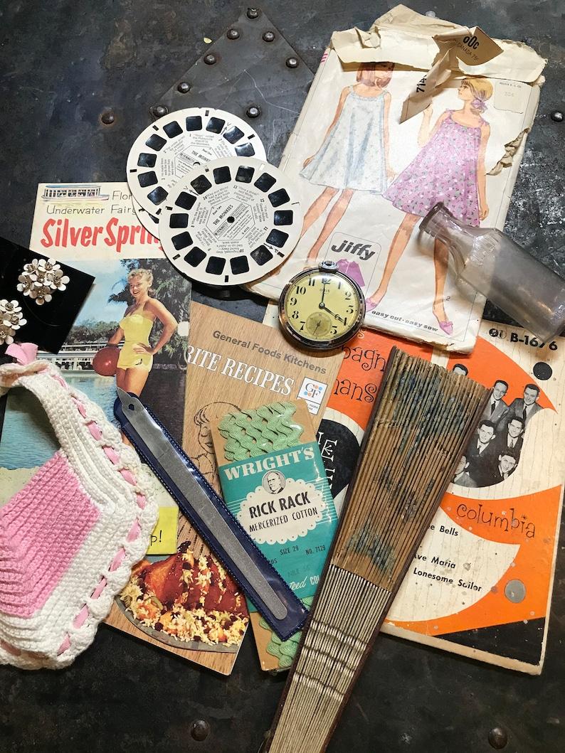 Vintage Odds/&Ends Mystery Bundle