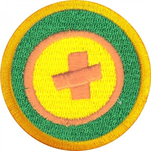 Fire Starting Wilderness Scouts Merit Badge Embroidered Iron on Patch