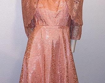 1950/'s SUZY PERETTE Black Silk New Look Stunning Draped Cocktail Dress Portrait Neckline Mrs Maisel Mad Men