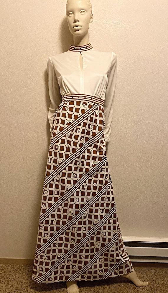 Mod TORI RICHARD Dress,Hawaiian Print Maxi Dress,… - image 1