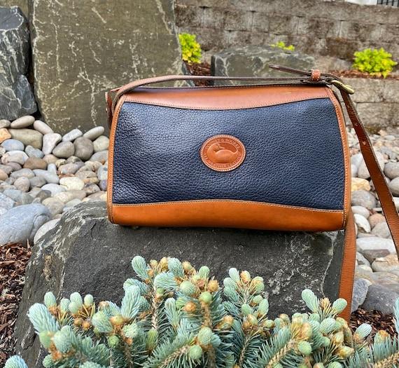 Dooney & Bourke Handbag Purse, AWL Handbag with Brass Duck and Hardware, Made in auSA