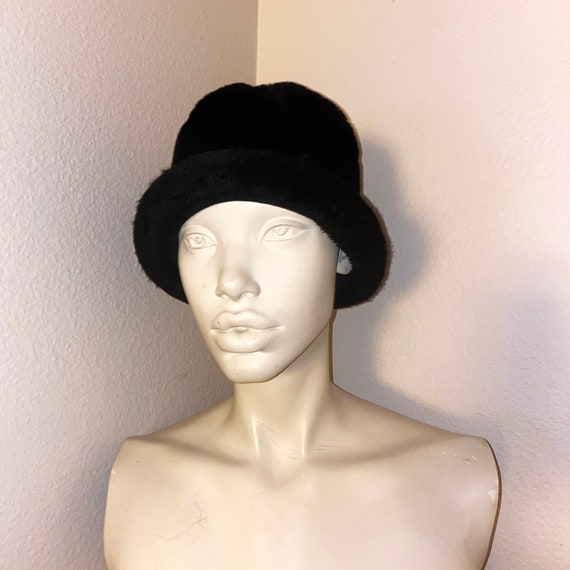 60s Miss Dior by CHRISTIAN DIOR Black MOD Bucket H