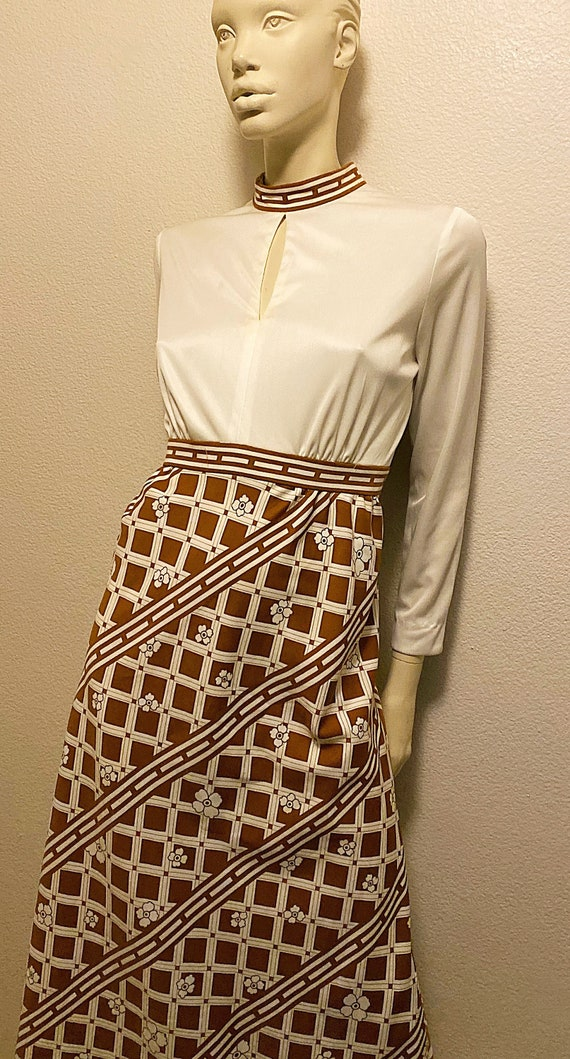 Mod TORI RICHARD Dress,Hawaiian Print Maxi Dress,… - image 3