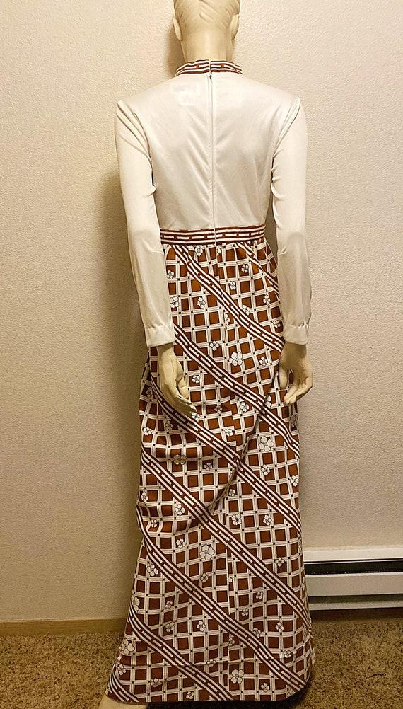 Mod TORI RICHARD Dress,Hawaiian Print Maxi Dress,… - image 5