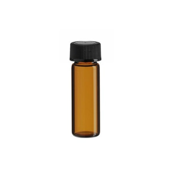 72  1//4 dram AMBER Glass Essential Oil Bottles Vials w// Caps /& Orifice Reducers