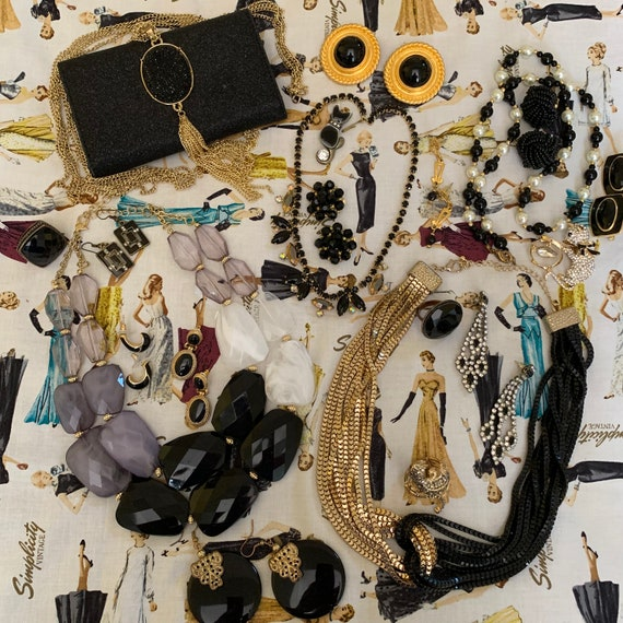 Little Black Dress Jewelry Collection-Black Gold T