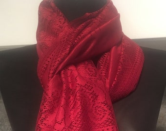 WOMEN FLORAL CLARET RED PRINTED LONG FAHSION SCARF,SHAWL,SHOULDER WRAP