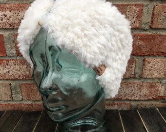 Gambia Country Name Red Earmuff Ear Warmer Faux Fur Foldable Outdoor