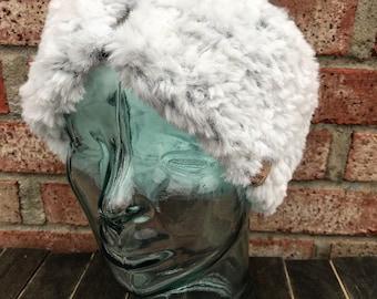 Mauritius Africa National Emblem Winter Earmuffs Ear Warmers Faux Fur Foldable Plush Outdoor Gift