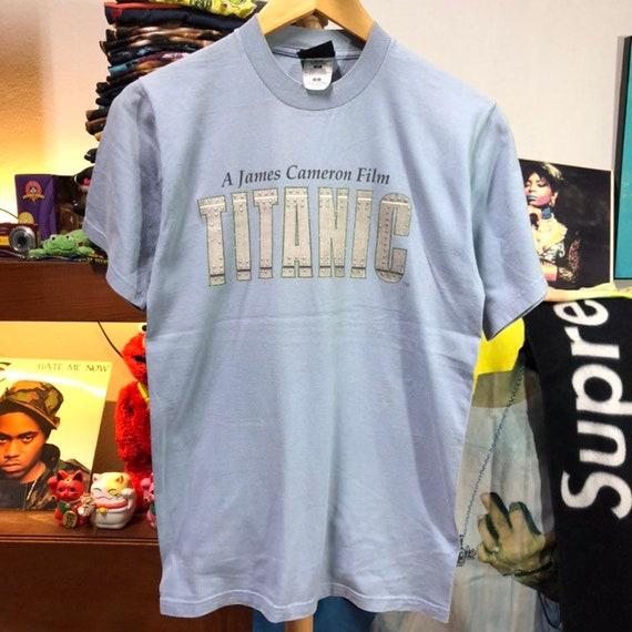 Vintage 1998 Titanic Movie T-Shirt size S