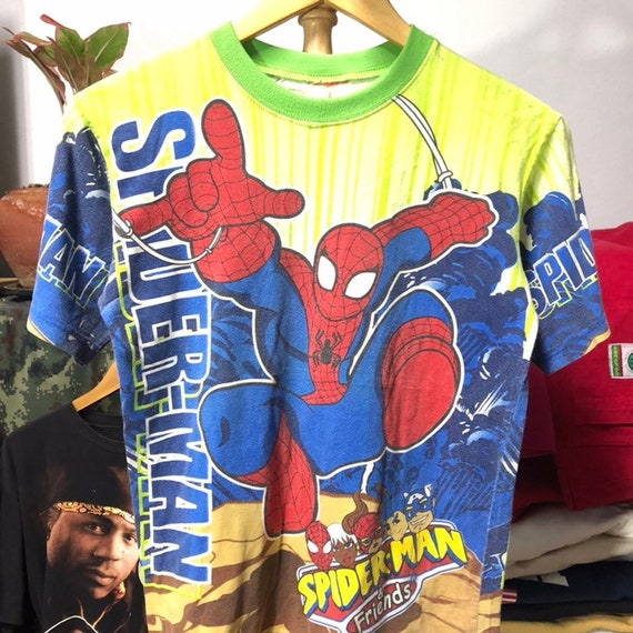 Vintage 90s Spiderman T-Shirt size S