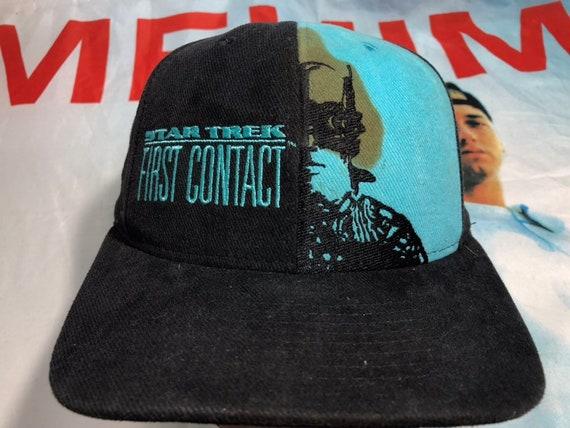 Vintage 1996 Star Trek First Contact Movie Hat siz