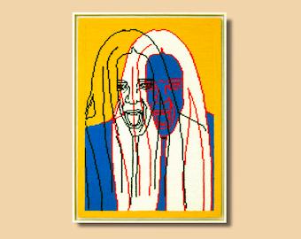 Tapestry 'Scream & Shout' (Original piece)