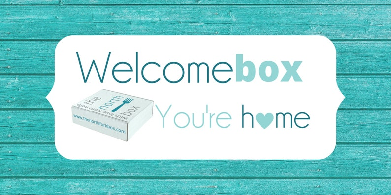 Welcome By The North Fork Box