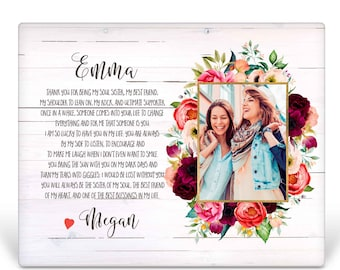 Bridesmaid Picture Frame gift