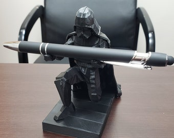 3D Printed Darth Vader Pen Holder - Custom Made Office Accessories: Made in America