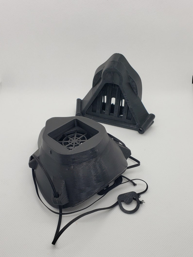 darth vader inspiriert 3d gedruckt maske gesichtsabdeckung